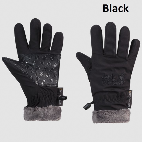 Jack Wolfskin Kids Softshell Highloft Glove